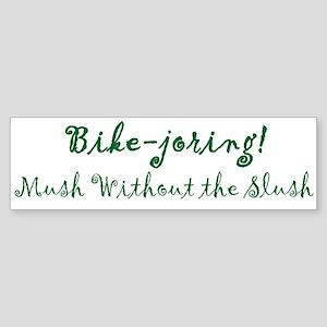 Bikejoring Bumper Sticker