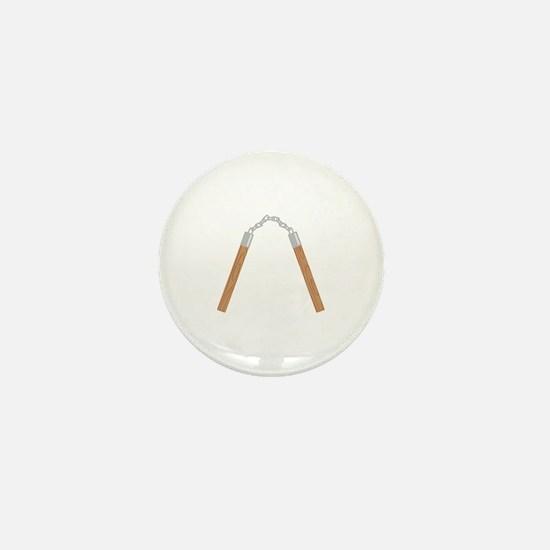 Nunchucks Mini Button