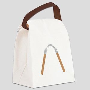 Nunchucks Canvas Lunch Bag
