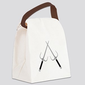Sai Weapons Canvas Lunch Bag