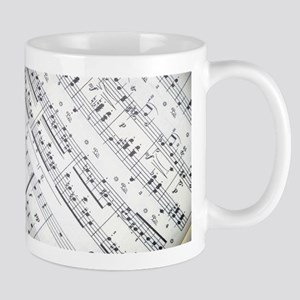music notes Stainless Steel Travel Mugs