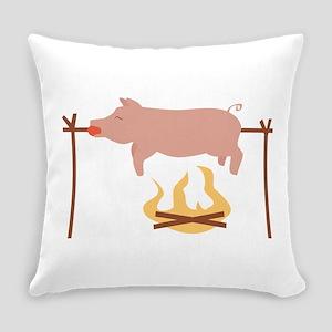 Pig Roast Everyday Pillow
