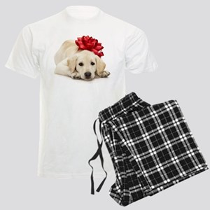 Yellow Lab Puppy Men's Light Pajamas