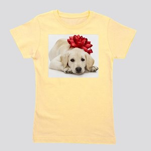 Yellow Lab Puppy Girl's Tee
