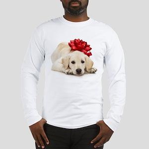 Yellow Lab Puppy Long Sleeve T-Shirt