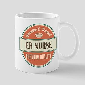 er nurse vintage logo Mug