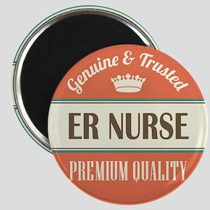 er nurse vintage logo Magnet
