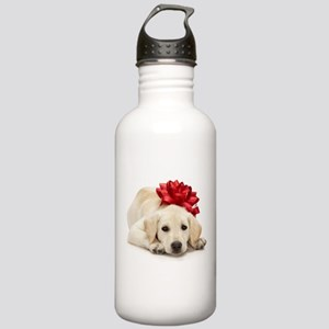 Yellow Lab Puppy Stainless Water Bottle 1.0L