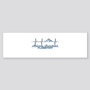 Arizona Snowbowl - Flagstaff - Ar Bumper Sticker