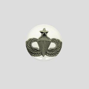 Airborne Senior Parachutist Wings Badg Mini Button