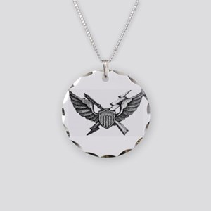 Sky Soldier Vietnam Air Assa Necklace Circle Charm