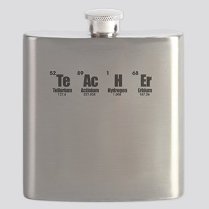 """Teacher"" in Periodic Table Style Flask"