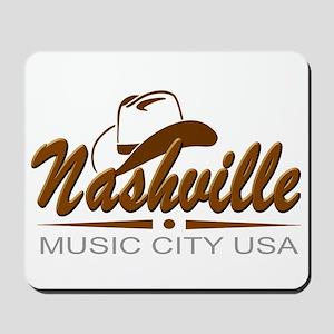 Nashville Music City Usa-02 Mousepad