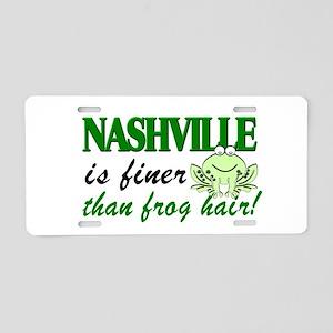 Nashville Finer Than Frog Hair-LP Aluminum License