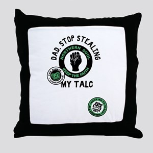 Northern Soul Dad Stop Stealing My Ta Throw Pillow