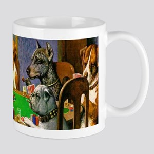 Dogs Playing Poker Mugs