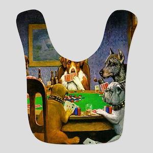 Dogs Playing Poker Bib