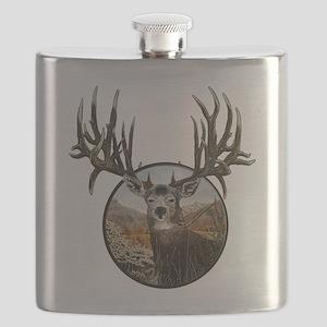 Big big buck Flask