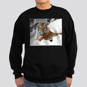Tiger In Snow Jumper Sweater