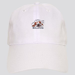 Better With Bulldog Baseball Cap