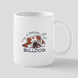 Better With Bulldog Mugs