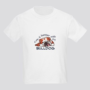 Better With Bulldog T-Shirt