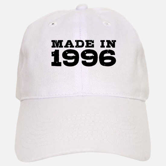 Made In 1996 Baseball Baseball Cap