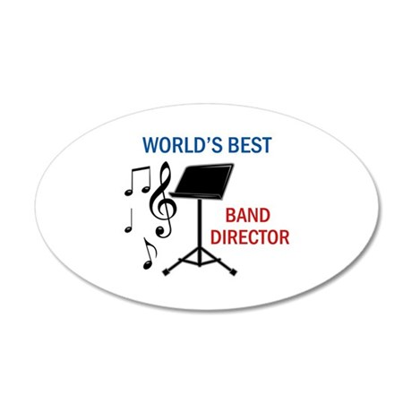 Best Band Director Wall Decal by Greatnotions37