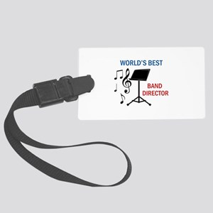 Best Band Director Luggage Tag