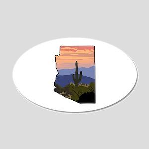 Arizona State Wall Decal