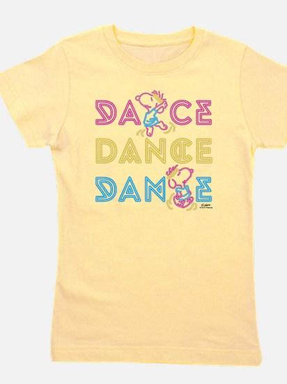 Peanuts Dance Girl's Tee