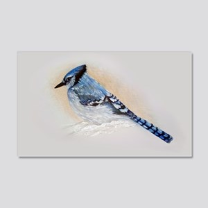 Blue Jay Drawing Wall Decal
