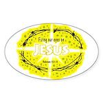 Sponge COB Oval Sticker