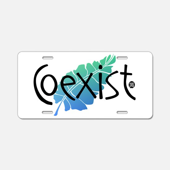 Coexist_1.png Aluminum License Plate