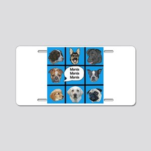 Silly dogs spoof Aluminum License Plate
