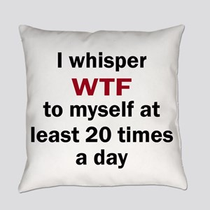 WTF Everyday Pillow