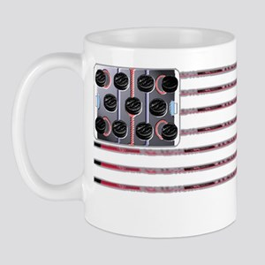 US Hockey Flag Mug