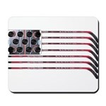 US Hockey Flag Mousepad