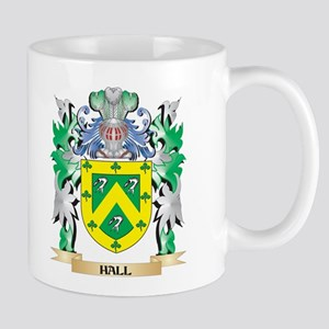 Hall Coat of Arms (Family Crest) Mugs