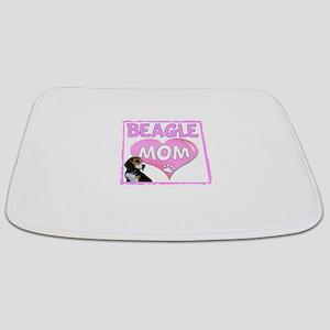 Beagle Mom Bathmat