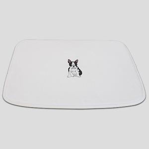 boston pup sq Bathmat