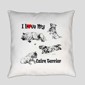 Love My Cairn Everyday Pillow