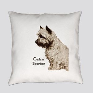 cairn drawing no back Everyday Pillow