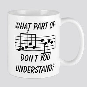 What Part Don't You Understand? Large Mugs