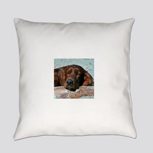 irish setter sq larger Everyday Pillow
