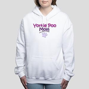 Yorkie Poo Mom Women's Hooded Sweatshirt