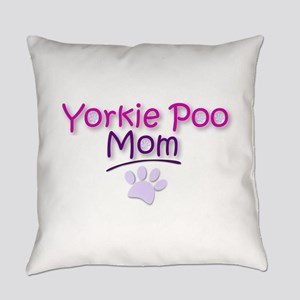 Yorkie Poo Mom Everyday Pillow
