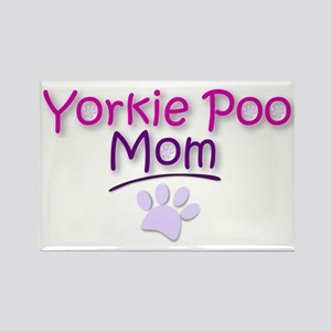 Yorkie Poo Mom Magnets