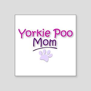 Yorkie Poo Mom Sticker