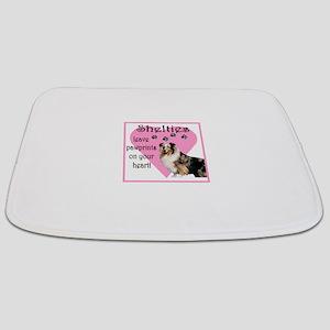 shelties paw prints2 Bathmat
